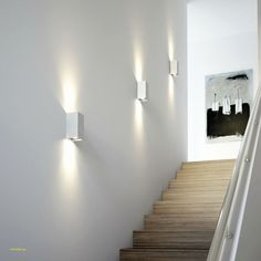 Outdoor Wall Lights for Houses . Outdoor Wall Lights for Houses . Wall Sconces for Staircase Led Stair Lights, Led Porch Light, Stairway Lighting, Outdoor Wall Lighting, Sconce Lighting, Staircase Lighting Ideas, Landscape Lighting, Lights For Stairs, Strip Lighting