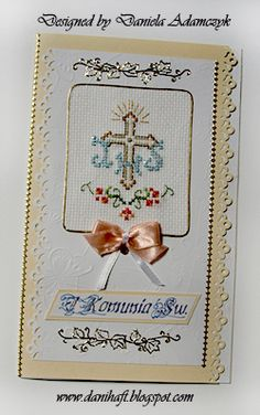 Card Making, Cross Stitch, Cards, Cross Stitch Pictures, Dots, Needlepoint, Felt Crafts, Marque Page, Crosses