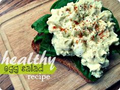 Healthy Egg White Salad Recipe