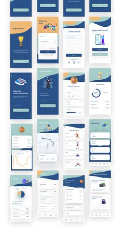 banking branding Smartie UI Kit is specially optimized for iOS with minimal style. It includes 20 mobile screen app templates of the highest quality.This UI Kit was designed in Sketch.Includes: walkthrough, login, tracking and banking. Login Design, Design Logo, Web Design, Design Layouts, Flat Design, Modern Design, Mobile App Design Templates, Mobile Ui Design, App Design Inspiration