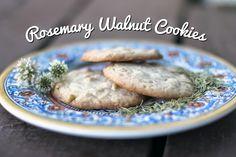 Rya Pie: Rosemary Walnut Cookies :: Recipe