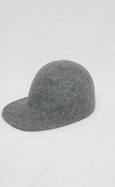 Stella McCartney Grey Hat | VAUNTE
