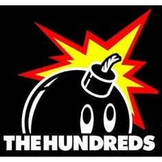 The hundreds logo colors, grafitti style with urban feel.