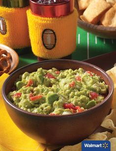 Rotel Rockin' Guac | Walmart – With fresh ingredients and Rotel Diced Tomatoes and Green Chilies, this guacamole recipe is delicious. Try it out at your next watch party, family get together or just as an appetizer before dinner!
