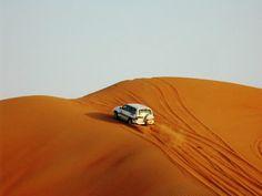 Dubai UAE - dune bashing