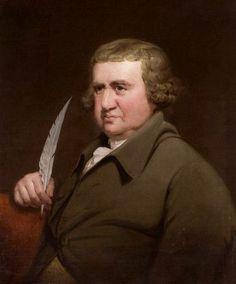 Erasmus Darwin, ca. 1790-1795 (Joseph Wright of Derby) (1734-1797) Wolverhampton Art Gallery, West Midlands UK
