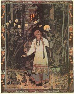 Fairy Tales,  Russian | Vasilisa the Beautiful by Ivan Bilibin