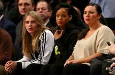 This Is What Happens When Cara Delevingne Goes to a Basketball Game