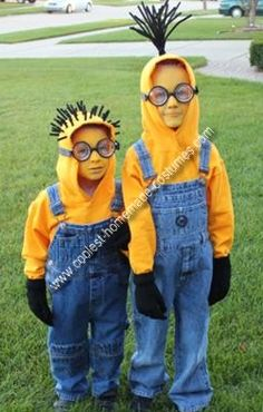Homemade Minion Costume Idea