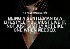 gentleman quotes - Google Search