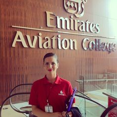Emirates stewardess trainee crewfie