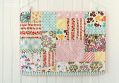 sherbet patchwork placemat | Flickr - Photo Sharing!