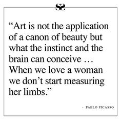 Feel the way. #Picasso #WednesdayWord #RUSSHloves  via RUSSH MAGAZINE OFFICIAL INSTAGRAM - Celebrity  Fashion  Haute Couture  Advertising  Culture  Beauty  Editorial Photography  Magazine Covers  Supermodels  Runway Models
