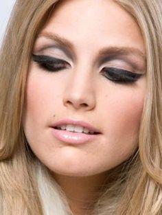 mod style cut crease makeup - Google Search