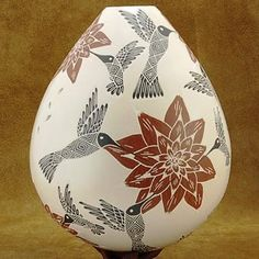 60 Pottery Painting Ideas to Try This Year As you can see, there are plenty of pottery painting ideas waiting for you out there once you decide to take it up. The simple and logical thing to do would Native American Pottery, Native American Art, Ceramic Pottery, Pottery Art, Pueblo Pottery, Pottery Designs, Pottery Ideas, Hand Built Pottery, Beginner Painting