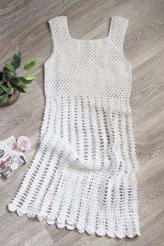 Летнее платье для маленькой принцессы АТЕЛЬЕ - Тольятти Crochet Summer Little White Dress