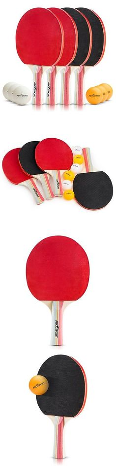 Sets 158955: Table Tennis Set - Pack Of 4 Premium Paddles Rackets And 6 Table Tennis Balls... -> BUY IT NOW ONLY: $30.99 on eBay!