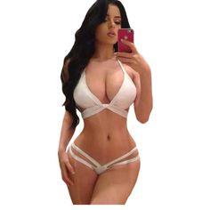 $24.62 (Buy here: https://alitems.com/g/1e8d114494ebda23ff8b16525dc3e8/?i=5&ulp=https%3A%2F%2Fwww.aliexpress.com%2Fitem%2F2016-New-Lift-up-Halter-Neck-Sexy-White-Bikini-LC41489%2F32680303774.html ) 2016 New Lift up Halter Neck Sexy White Bikini LC41489 for just $24.62