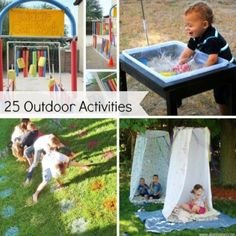 25 Outdoor Activities for kids!