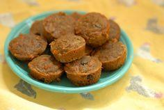 Carrot Muffins - Gluten Free Mini Muffin Recipe