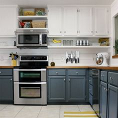 Hate the gap between the top of your cabinets and the ceiling? You'll love this DIY solution!