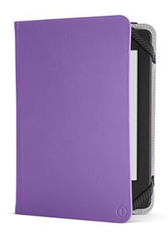 NuPro Amazon Kindle Paperwhite Case – Lightweight Durable Slim Folio Cover (fits Kindle and Kindle Paperwhite), Purple