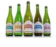 beak and skiff 1911: made right here near my hometown! the raspberry hard cider is sooo good! 1911 Spirits : Hard Cider Label Design