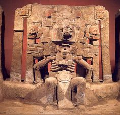 Mictlantecuhtli el Dios de la Muerte, lo puedes admirar en el Museo de Antropología de Xalapa y fue encontrado en El Zapotal