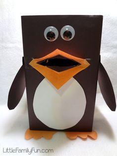 Penguin game for kids. Penguin craft for kids. Feed the penguin game for kids. Abc Activities, Toddler Learning Activities, Winter Activities, Kids Learning, Learning Games, Preschool Age, Preschool Crafts, Crafts For Kids, Easy Crafts
