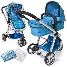 TecTake 3 en 1 Sillas de paseo coches carritos para bebes convertible azul Ver más http://bebe.deskuentos.es/comprar/carritos-y-sillas-de-paseo/tectake-3-en-1-sillas-de-paseo-coches-carritos-para-bebes-convertible-azul/