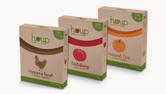 Brand identity and packaging for an instant organic soup range