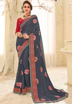 28 inspiring Elegant saree images | Indian fashion, Indian sarees