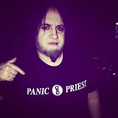 Thank you to @panicpriest for the awesome new t-shirt!! It was great seeing you again in Chicago on Thursday opening for @sidewalksandskeletons !! Shouts to all the awesome acts I saw play that night!! @curseofcassandra @blakpanelskript Plagues @djsatanichispanic Saint @aviatrixonfire Dyonna Cross
