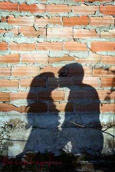 cute pose for wedding and/or engagement photos {{w/ a forehead kiss}}