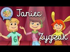 TANIEC ZYGZAK – Wygibasy z naszej klasy - piosenka dla dzieci, dziecięce hity! - YouTube