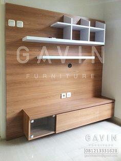 Backdrop tv, lemari pakaian, dan wardrobe desain custom Backdrop TV Dengan HPL Untuk Pak Ary Di Ciputat Backdrop tv produksi Gavin Furniture berikut ini merupakan backdrop tv untuk pak ary di legos…