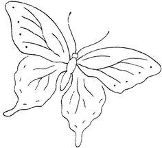 dibujos de mariposas posadas en flores - Buscar con Google