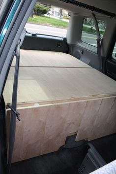 CR-V camping platform - Page 4 - HondaSUV Forums - I need to do this with mine.