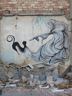 Arte Popular – Hyuro graffitis en blanco y negro « Felix Maocho