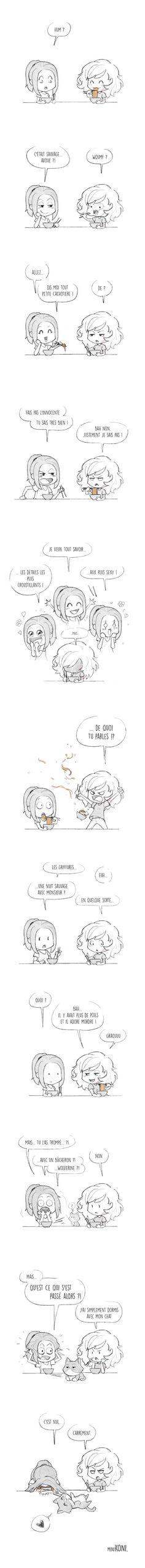 MiniKoni: Nouille... !