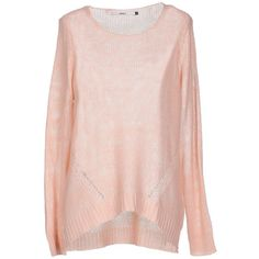 Only Jumper ($41) ❤ liked on Polyvore featuring tops, sweaters, light pink, long sleeve jumper, acrylic sweater, pink long sleeve top, long sleeve sweaters and lightweight sweaters