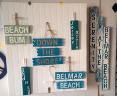 New signs @ Serenity by the Sea Belmar, NJ