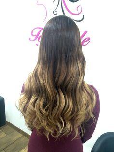 Prosvětlení vlasů od naší Top Stylist Moniky. Ombré. / Ombre hair. Hair illumination. Soft ombre. Hair contouring.
