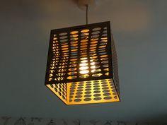 ORGANIC CELLS LAMP 0.1  Laser Cut Lam shade Plywood by UKLaser