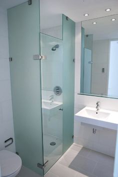 how to clean shower privacy glass