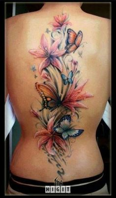 calla+lily+and+butterfly+tattoo | Calla lilies and butterflies