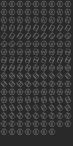 OMG....EXO's Logo was a cube with a missing edge??