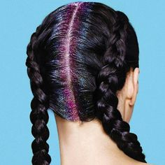 Everyone Is Going Crazy for Glitter Roots  - Cosmopolitan.com