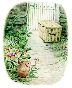 The Tale of Johnny Town-Mouse - Timmy Willie was a little country mouse who went to town by mistake in a hamper.