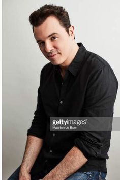 Seth MacFarlane of FOX's 'The Orville' poses for a portrait during the 2017 Summer Television Critics Association Press Tour at The Beverly Hilton Hotel on August 2017 in Beverly Hills, California. Seth Macfarlane, Fangirl, Press Tour, The Beverly, Stuff And Thangs, So Little Time, Hot Guys, Hot Men, Gorgeous Men